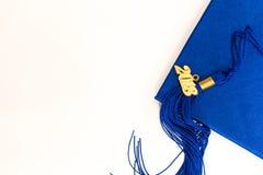 毕业2018盖帽和缨子 免版税图库摄影