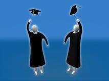 毕业 向量例证