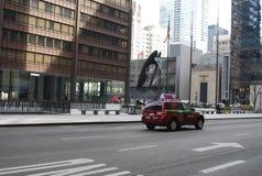 毕加索Daley广场 免版税库存图片