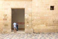 毕加索博物馆 库存照片