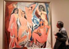 毕加索绘画 库存照片