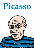 毕加索 免版税库存图片