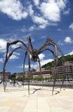 毕尔巴鄂巨型西班牙蜘蛛 免版税库存照片