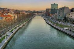 毕尔巴鄂市 免版税库存图片