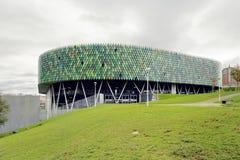 毕尔巴鄂竞技场,是一个室内竞技场在毕尔巴鄂,西班牙 库存照片