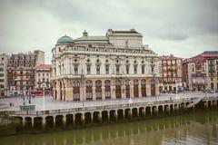毕尔巴鄂,巴斯克地区,西班牙 免版税库存图片