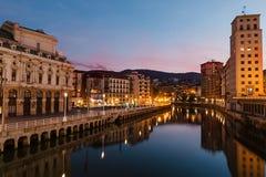 毕尔巴鄂,巴斯克地区,西班牙 免版税图库摄影