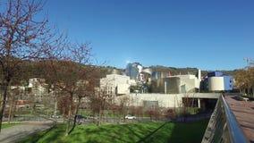 毕尔巴鄂,西班牙古根海姆美术馆的外在看法  影视素材
