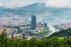 毕尔巴鄂市,西班牙 免版税图库摄影