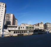 毕尔巴鄂,比斯开湾,巴斯克地区,西班牙,伊比利亚半岛,欧洲省  库存图片