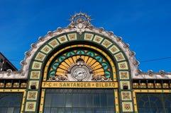毕尔巴鄂,比斯开湾,巴斯克地区,西班牙,伊比利亚半岛,欧洲省  免版税库存照片