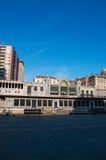 毕尔巴鄂,比斯开湾,巴斯克地区,西班牙,伊比利亚半岛,欧洲省  库存照片