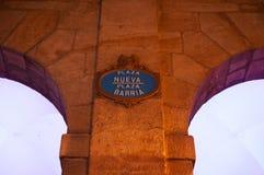 毕尔巴鄂,比斯开湾,巴斯克地区,西班牙,北西班牙,伊比利亚半岛,欧洲省  库存照片
