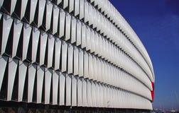 毕尔巴鄂,西班牙- 2015年5月28日:详细的观点的圣 免版税库存照片