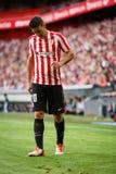 毕尔巴鄂,西班牙- 9月18 :阿列斯・阿杜列斯,运动俱乐部毕尔巴鄂球员,在毕尔巴鄂竞技队和巴伦西亚锎之间的比赛的, cel 免版税库存图片