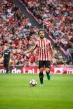毕尔巴鄂,西班牙- 10月16 :Yeray阿尔瓦雷斯, Athlectic俱乐部毕尔巴鄂球员,在毕尔巴鄂竞技队和皇家社会队之间的比赛的, c 免版税库存图片