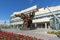 毕尔巴鄂,巴斯克国家,西班牙2015年11月06日 免版税图库摄影