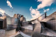 毕尔巴鄂guggenheim博物馆 免版税库存照片