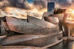 毕尔巴鄂guggenheim博物馆 免版税图库摄影
