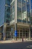 毕马威办公室,伦敦港区 免版税库存照片