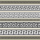 毗邻收集希腊 库存图片
