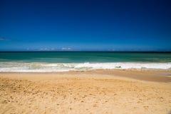 毛伊夏威夷美丽的岸  免版税库存图片