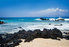 毛伊海滩,夏威夷 库存照片