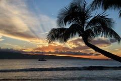 毛伊的海岛天堂 库存图片