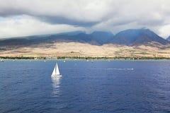 毛伊美丽如画的夏威夷 免版税库存照片