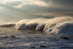 毛伊,夏威夷北部岸  免版税库存照片