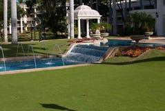 毛伊, HI - 12月15日:盛大Wailea,华尔道夫Astoria旅馆,是在专属Wailea的几种手段之一 免版税库存图片