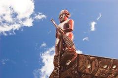毛利人的文化 库存图片