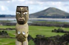 毛利人雕刻 免版税库存图片