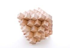 毛刺木头 免版税库存图片