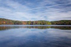 毛刺池塘国家公园Torrington康涅狄格 图库摄影