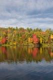 毛刺池塘国家公园Torrington康涅狄格 免版税图库摄影
