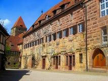 毛尔布龙隐修院在德国 联合国科教文组织世界遗产名录纪念碑 免版税库存照片