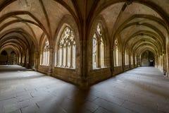 毛尔布龙,德国- 2017年4月14日:从的修道院毛尔布龙 免版税库存照片
