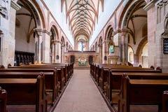 毛尔布龙,德国- 2017年4月14日:修道院的教会 图库摄影