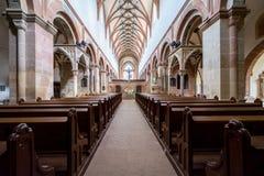 毛尔布龙,德国- 2017年4月14日:修道院的教会 库存图片