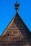 毛尔布龙,德国- MAI 17日2015年:修道院的,一部分gotic样式房子的联合国科教文组织世界遗产名录站点 库存照片