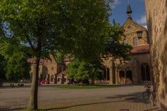 毛尔布龙,德国- MAI 17日2015年:行托特修道院的样式房子是联合国科教文组织世界遗产名录站点的一部分 图库摄影