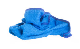 毛巾。在背景的洗碗布 免版税库存图片