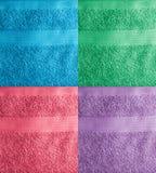 毛巾拼贴画 库存图片