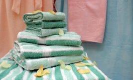 毛巾 免版税库存照片