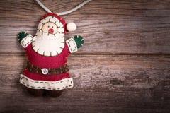毛毡圣诞老人 免版税图库摄影