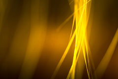 毛皮抽象宏指令在黄色口气的 库存照片
