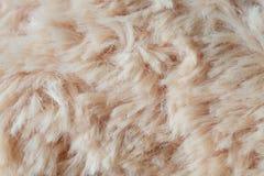 毛皮背景羊毛纹理摘要 库存照片