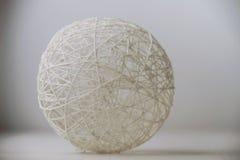 毛线手工制造球  库存图片