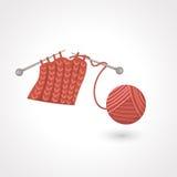 毛线球 免版税库存照片